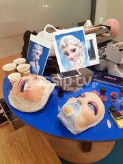 YFSF: Άθλος του Αργύρη Αγγέλου η μεταμόρφωση σε Elsa από το Frozen (photos)