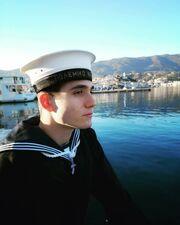 Γιώργος Κακοσαίος: Ο γιος του Γιάννης Πλούταρχου ορκίστηκε στο Πολεμικό Ναυτικό