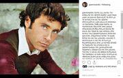 Γιάννης Βαρδής: Έτσι αποχαιρέτησε τον Φαίδωνα Γεωργίτση - Η εξομολόγηση στο Instagram