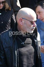 Φαίδων Γεωργίτσης: Τραγικές φιγούρες η σύζυγος, η κόρη και ο γιος του στην κηδεία του