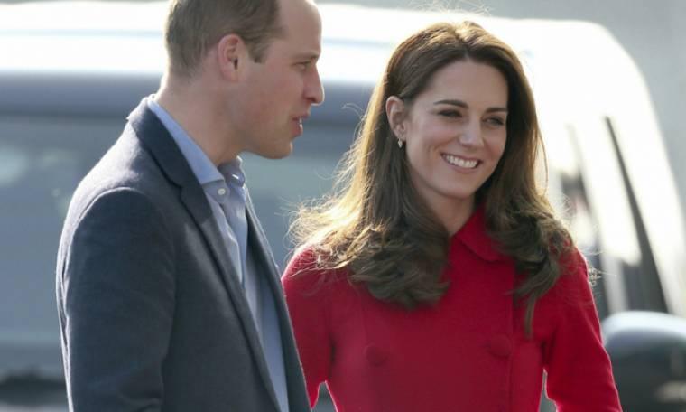 Σχεδόν χάσαμε το τρυφερό τετ-α-τετ της Kate Middleton και του πρίγκιπα William