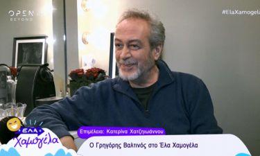 Γρηγόρης Βαλτινός: Οι δύσκολες στιγμές στο θεατρικό σανίδι και η απόφαση να μη «καίγεται» στην TV!