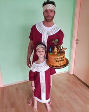 Έτσι γιόρτασε τα γενέθλια του γιου του ο Γιώργος Μανίκας - Δεν θα πιστεύετε τι φόρεσαν