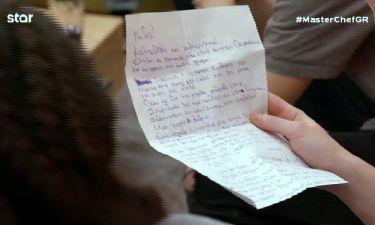 Master Chef: Το γράμμα του Αλέξανδρου μετά την αποχώρησή του και η μπηχτή: «Μην παίζετε βρόμικα»