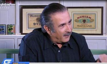 Η εξομολόγηση του Λάκη Λαζόπουλου λίγο πριν την πρεμιέρα του «Αλ Τσαντίρι»