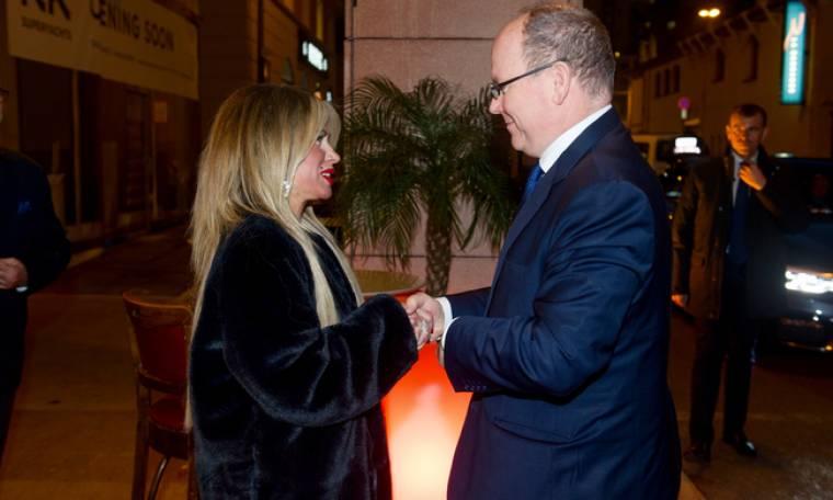 Ιωάννα Ευθυμίου:Η ατομική έκθεση στο Μονακό και η επίσκεψη και ξενάγηση του Πρίγκιπα Αλβέρτου