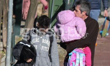 Μάριος Αθανασίου: Ευτυχισμένος μπαμπάς εν... δράσει! (pics)