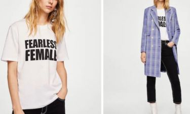 Τα πιο ωραία t-shirts για να φορέσεις σήμερα που γιορτάζουν οι γυναίκες