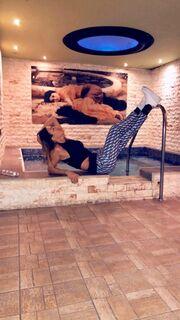 Πηγή Δεβετζή: Η σέξι πόζα σε spa στη Θεσσαλονίκη «έριξε» το Instagram