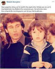 Συγκινεί ο γιος του Γεωργίτση: «Εγώ μπαμπά δεν σε αποχαιρετώ γιατί...»
