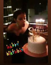 Γενέθλια για την Ελένη Φουρέιρα - Δείτε τις δύο εντυπωσιακές τούρτες που έσβησε
