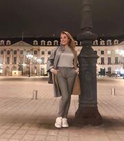 Τατιάνα Στεφανίδου: Στο Παρίσι με την οικογένειά της