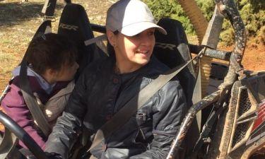 Aθηναΐς Νέγκα: Καθαρά Δευτέρα με την οικογένειά της στον Παρνασσό (βίντεο)