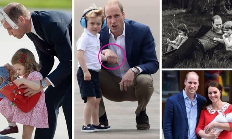 Πρίγκιπας William: Οι πιο όμορφες και τρυφερές στιγμές με τα παιδιά του (vid)