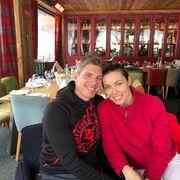 Μαριέττα Χρουσαλά: Γενέθλια στην χιονισμένη Κουρσεβέλτον με τον Λέοντα Πατίτσα