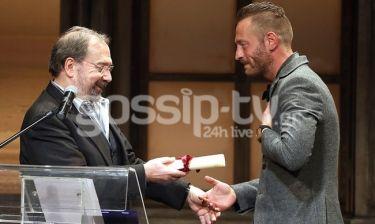 Μιχάλης Συριόπουλος: Ο νικητής του βραβείου «Δημήτρης Χορν» και ο συγκλονιστικός του λόγος