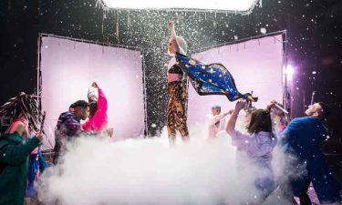 Eurovision 2019: Δείτε backstage φωτογραφίες της Τάμτα από τα γυρίσματα του «Replay»