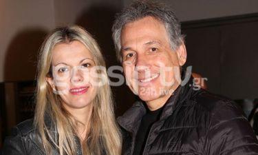 Ο Θάνος Καληώρας με τη σύζυγό του σε σπάνια κοινή εμφάνιση