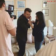 Γιάννης Πλούταρχος: Ποια γνωστή ηθοποιός πρωταγωνιστεί στο νέο του clip;