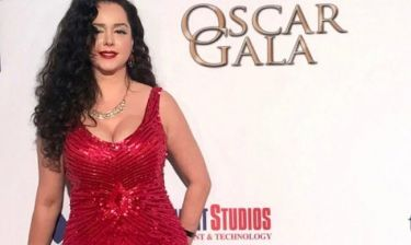 Η Δέσποινα Μοίρου ως άλλη Jessica Rabbit στα Oscars