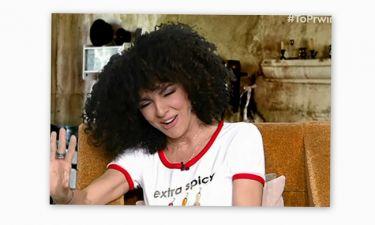 Έξαλλη η Μαρία Σολωμού: «Σου μοιάζω εγώ με την Κορινθίου;»