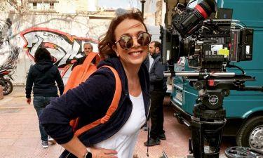 Χριστίνα Αλεξανιάν: Η φωτογραφία από τα γυρίσματα του «Λόγω Τιμής»