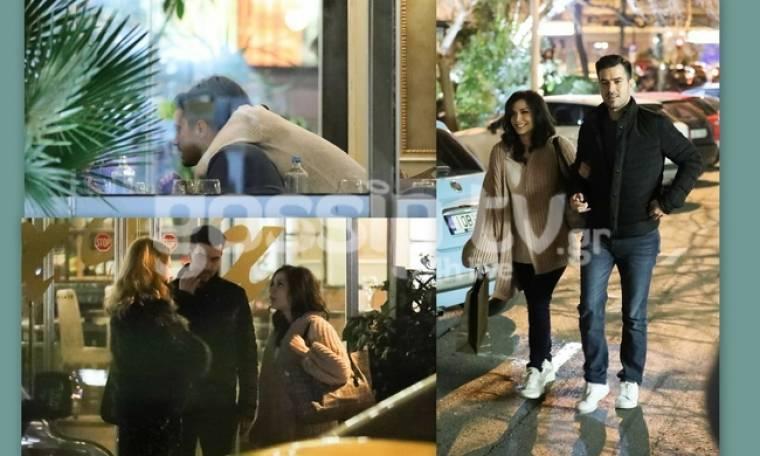 Τσιμιτσέλης-Γερονικολού: Η νυχτερινή έξοδος του ζευγαριού με φίλους και οι τρυφερές αγκαλιές