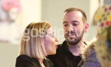 Νάντια Μπουλέ-Γιώργος Ισαάκ: Έξοδος για το ερωτευμένο ζευγάρι-Δεν κρύβονται πια