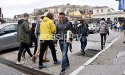 Ο Κώστας Σόμμερ βόλτα στο κέντρο της πόλης μόνος μετά τον χωρισμό του