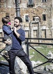 Μελέτης Ηλίας: Η σπάνια φωτογραφία με τον γιο του