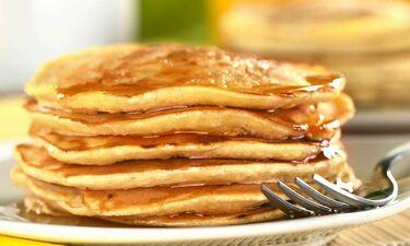 Σαρακοστιανά pancakes με ταχίνι!