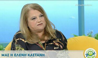 Η εξομολόγηση της Ελένης Καστάνη: «Ο γιος μου δεν λέει ότι η μαμά του είναι γνωστή ηθοποιός!»
