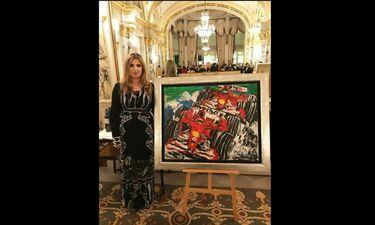 Η Μίνα Παπαθεοδώρου - Βαλυράκη με τον πρίγκιπα Αλβέρτο στο Μονακό για καλό σκοπό