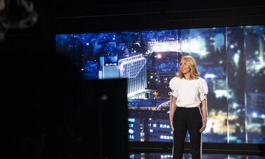 Η Έλλη Στάη έρχεται με το talk show Open Mind κι έχουμε backstage φωτογραφίες από τα γυρίσματα
