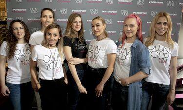 Η INTERSPORT  υπογράφει το #womanism  και «ανεβάζει στο βάθρο» όλες τις γυναίκες