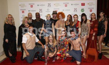 Ο Δημήτρης Στρέπκος, designer του brand Celebrity Skin παρουσίασε τη νέα του συλλογή