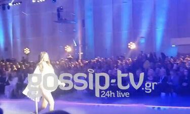 Madwalk 2019: Σούπερ σέξι η Ηλιάνα Παπαγεωργίου στην έναρξη του show