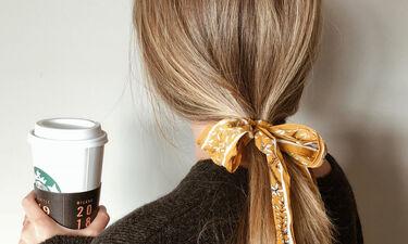 6+1 τρόποι για να φορέσεις το μαντήλι στα μαλλιά