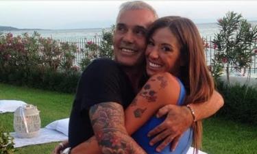 To τρυφερό φιλί του Στέλιου Ρόκκου στην γυναίκα του για τα γενέθλιά της