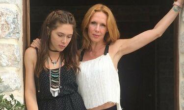 Το συγκινητικό μήνυμα της Παπούλια μετά την εμφάνιση τη κόρης της στα Madwalk