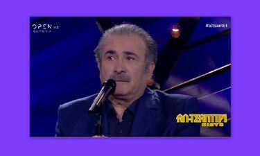 «Αλ Τσαντίρι Νιουζ»: Δεν άντεξε ο Λαζόπουλος και ξέσπασε σε κλάματα! Η συγκίνηση για τον Μητροπάνο