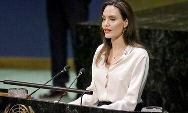 Συγκλονίζει η Jolie: «Δεν μπορεί να υπάρξει ειρήνη αν δεν σεβαστούμε τα δικαιώματα των γυναικών»