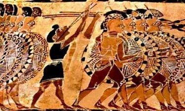 Πως εννοούσαν την ανδρεία οι αρχαίοι Έλληνες.Η πειθαρχία της συμπαγούς φάλαγγας.