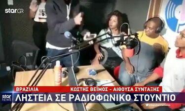 Απίστευτο! Ληστεία σε ραδιοφωνικό στούντιο