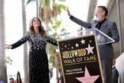 Η Rita Wilson απέκτησε αστέρι στη Λεωφόρο της Δόξας