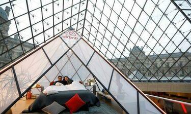 Πάρε μέρος στον διαγωνισμό και μείνε ένα βράδυ στην Πυραμίδα του Μουσείου του Λούβρου!