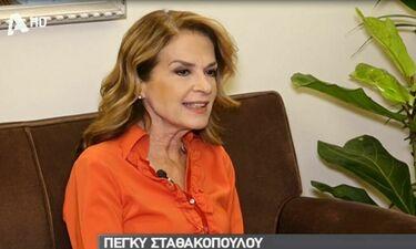 Πέγκυ Σταθακοπούλου: Μιλά πρώτη φορά on camera για τον χωρισμό από τον σύζυγό της!