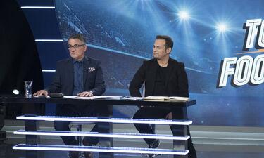 Total Football: Ο Ντέμης Νικολαϊδης υποδέχεται τον πρώην συμπαίκτη του, Άκη Ζήκο