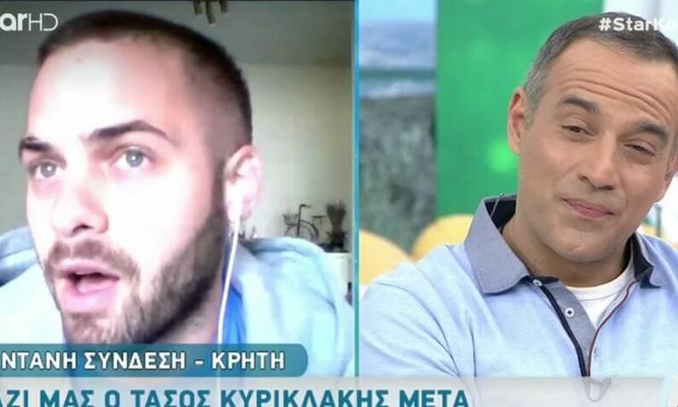 MasterChef: Ο Τάσος Κυρικλάκης ξεκαθαρίζει τι συνέβη με τον Σταμάτη και προβλεπει τον νικητή