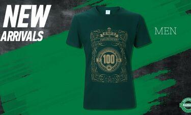 Επετειακή σειρά 100 χρόνων στο Paoshop: Ανανεωμένη σειρά t- shirts